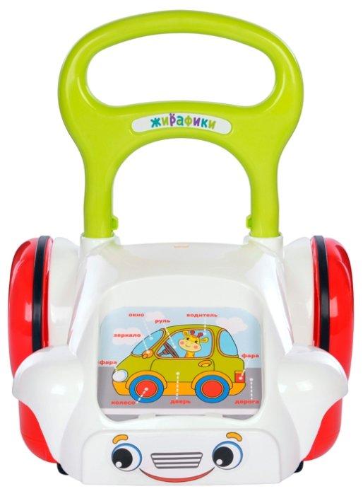 Каталка-ходунки Жирафики Суперкар (939540)