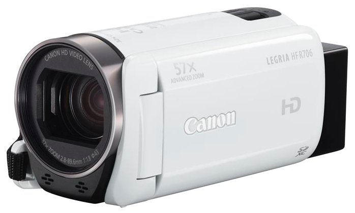 Canon Legria HF R706 white