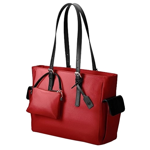 Сумка HP Ladies Slim Black/Red/Taupe Tote 14