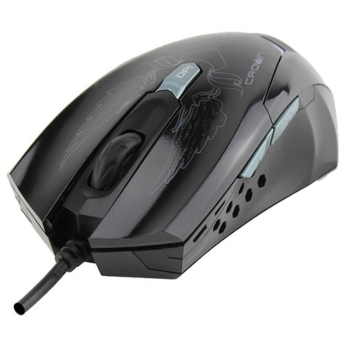 Мышь CROWN MICRO CMXG-1100 BLAZE Black USB черный игровая мышь crown gaming cmxg 605 black gold