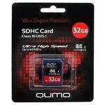Карта памяти Qumo SDHC Card Class 10 UHS-I U1