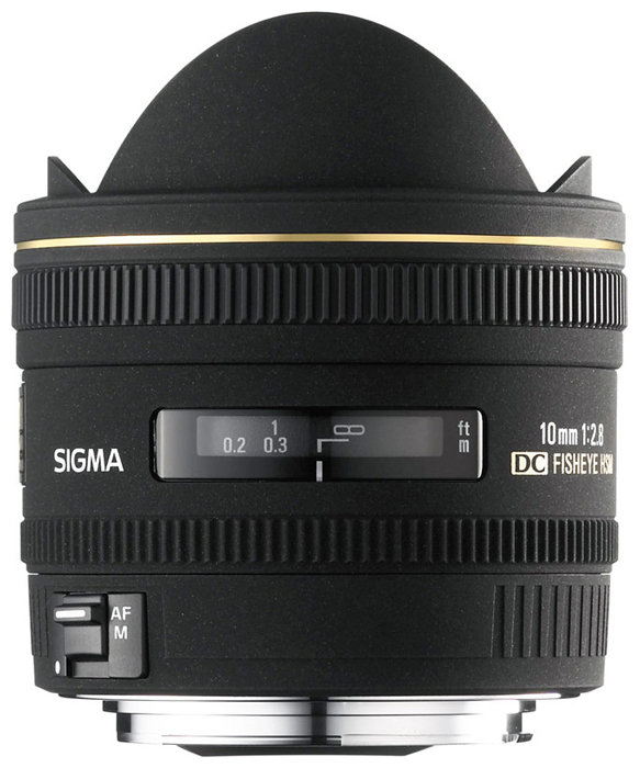 Sigma AF 10mm f/2.8 EX DC HSM Fisheye Nikon F