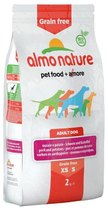 Корм для собак Almo Nature Holistic для здоровья костей и суставов, свинина с картофелем (для мелких пород)