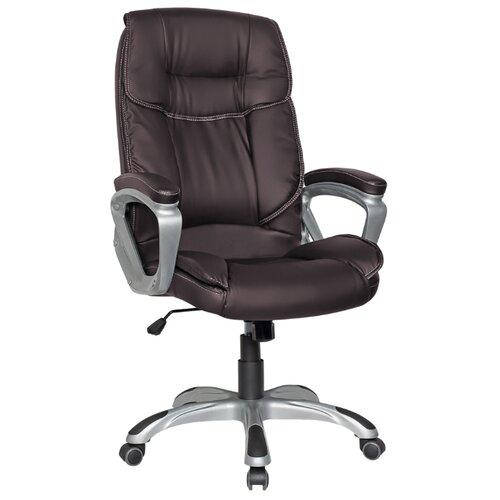 Компьютерное кресло College CLG-615 LXH для руководителя, обивка: искусственная кожа, цвет: коричневый