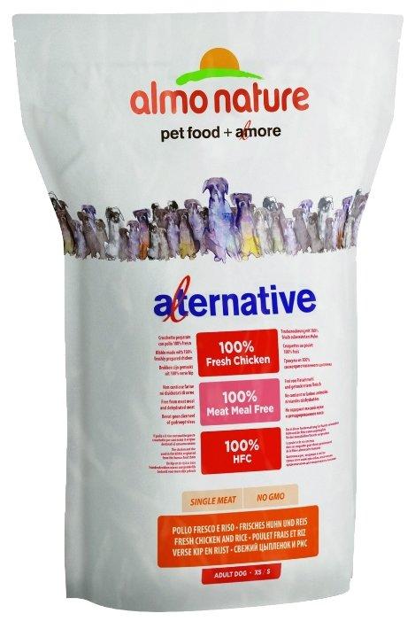 Корм для собак Almo Nature Alternative Fresh Chicken and Rice XS-S