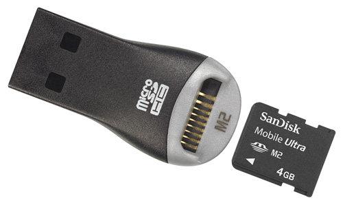 SanDisk Mobile Ultra Memory Stick Micro M2