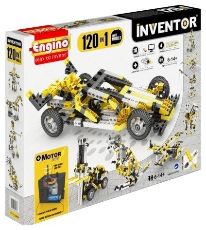Электромеханический конструктор ENGINO Inventor Motorized 12030-120