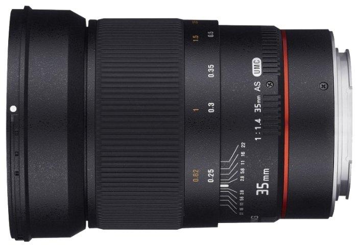 Samyang Объектив Samyang 35mm f/1.4 ED AS UMC AE Canon EF