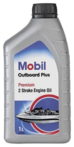 Моторное масло MOBIL Outboard Plus 1 л