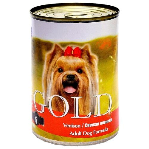 Влажный корм для собак Nero Gold оленина 410г