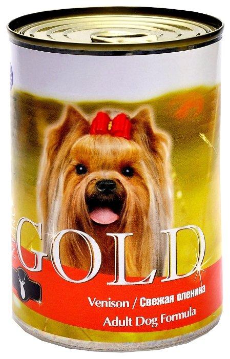 Корм для собак Nero Gold оленина 410г