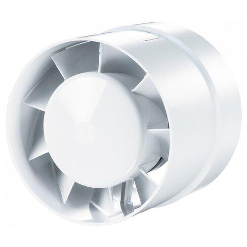 Канальный вентилятор VENTS 125 ВКО турбо белый муфта vents 1111