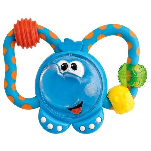 Прорезыватель-погремушка Chicco Слоненок 61411 голубой chicco погремушка ключи на кольце голубая chicco