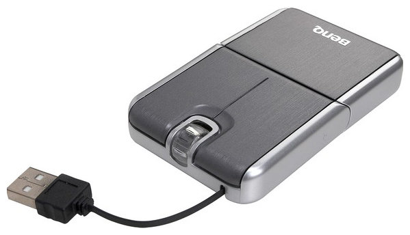 Мышь BenQ S500 Silver USB