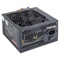 EXEGATE EX221641RUS Блок питания 500W ATX-500PPX RTL, black, active PFC, 12cm, 20+4pin 4pin PCI-E 4 IDE 5 SATA