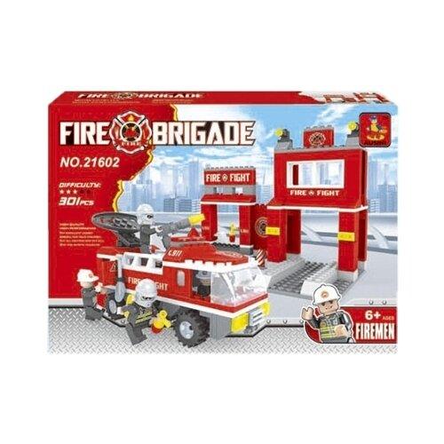 Купить Конструктор Ausini Пожарная бригада 21602, Конструкторы