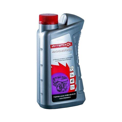 Фото - Масло для садовой техники Интерскол Полусинтетическое масло для 4-хтактных двигателей 2600 007 1 л аксессуары для садовой техники