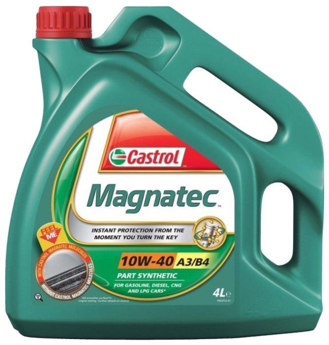 Castrol Magnatec 10w40 А3/В4 масло полусинтетическое 4 л. 156EED