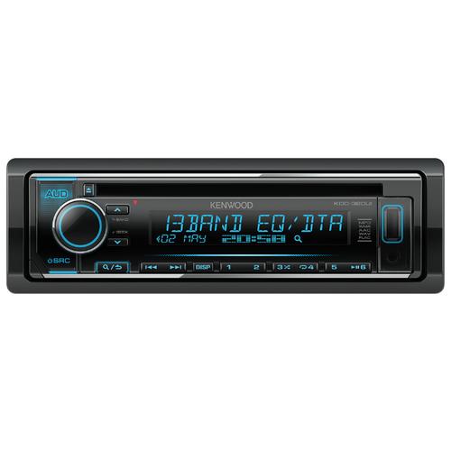 Автомагнитола KENWOOD KDC-320UI, черная