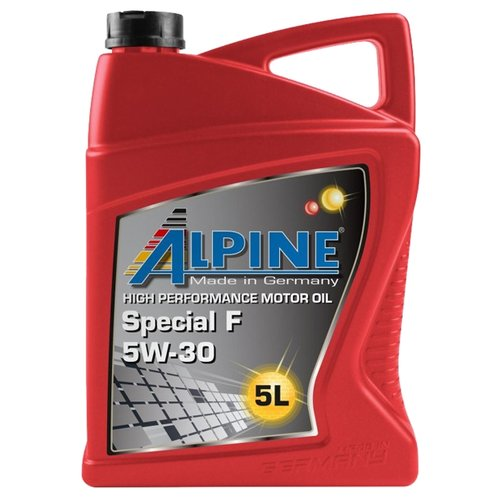 Синтетическое моторное масло ALPINE Special F 5W-30, 5 л