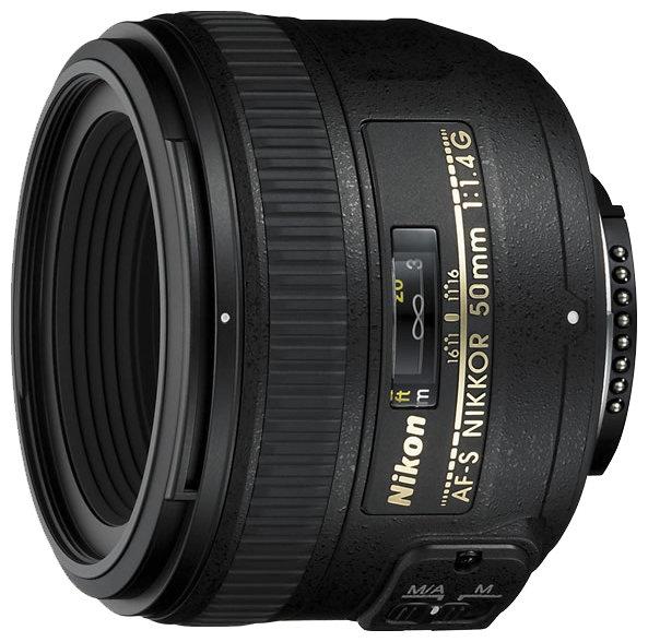 Nikon Объектив Nikon 50mm f/1.4G AF-S Nikkor