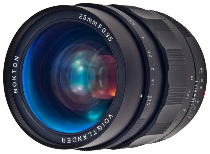 Объектив Voigtlaender 25mm f/0.95 Nokton Micro 4/3