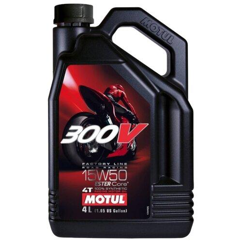 Фото - Синтетическое моторное масло Motul 300V Factory Line Road Racing 15W50 4 л моторное масло motul 300v 4t fl road racing 5w 40 1 л