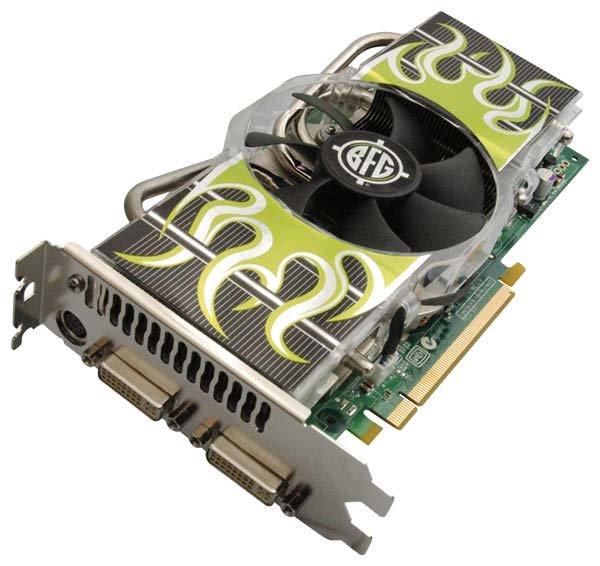 BFG GeForce 7800 GTX 580Mhz PCI-E 512Mb 1750Mhz 256 bit 2xDVI VIVO YPrPb