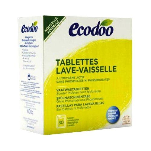 Ecodoo таблетки для посудомоечной машины, 30 шт.