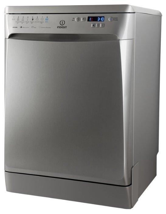 Посудомоечная машина INDESIT DFP 58T94 CA NX EU, полноразмерная, серебристая