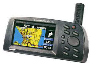 Навигатор Garmin StreetPilot III Deluxe