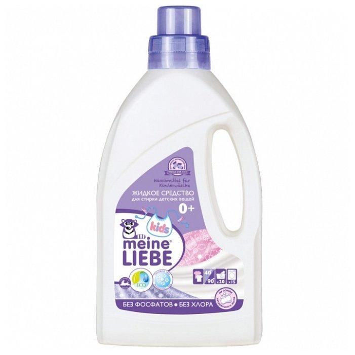 Купить Жидкость Meine Liebe для детского белья, 0.8 л, бутылка по низкой цене с доставкой из Яндекс.Маркета