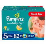 Pampers Active Baby-Dry 5 (11-18 кг)