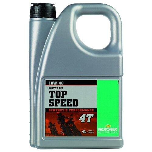 Фото - Синтетическое моторное масло Motorex Top Speed 4T 10W-40 4 л синтетическое моторное масло motorex power synt 4t 5w 40 4 л