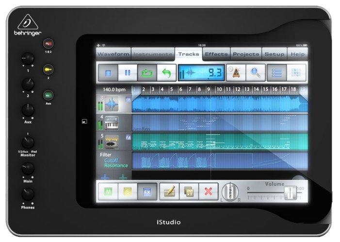 Внешняя звуковая карта BEHRINGER iSTUDIO iS202
