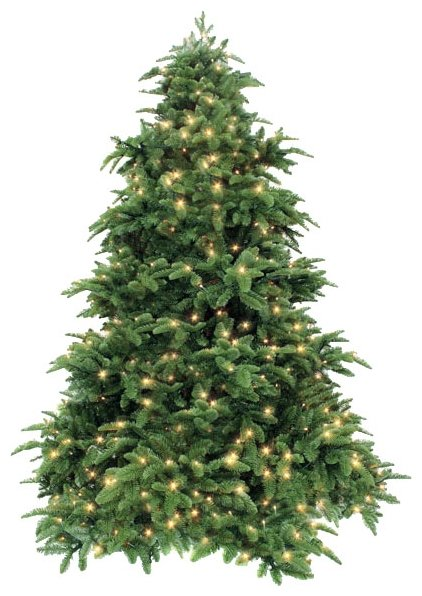 Triumph Tree Ель Нормандия зеленая (лампы)
