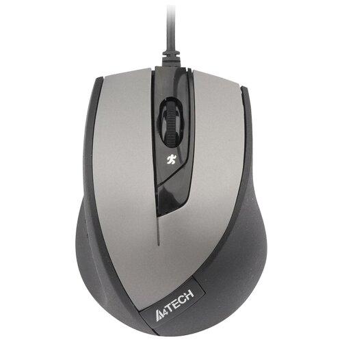 Мышь A4Tech N-600X-2 Grey USB мышь a4tech n 60f 2 carbon