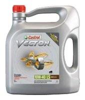 Моторное масло Castrol Vecton 10W-40 LS 5 л