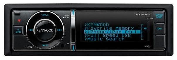 Автомагнитола KENWOOD KDC-BT6047U
