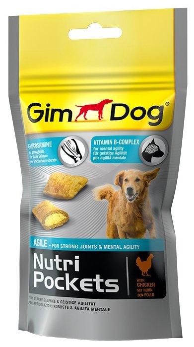 Лакомство для собак GimDog Nutri Pockets Agile