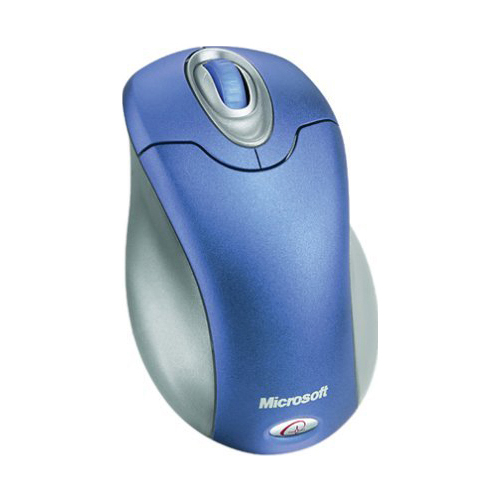 Мышь Microsoft Wireless Optical Mouse 3000 Periwinkle USB+PS/2