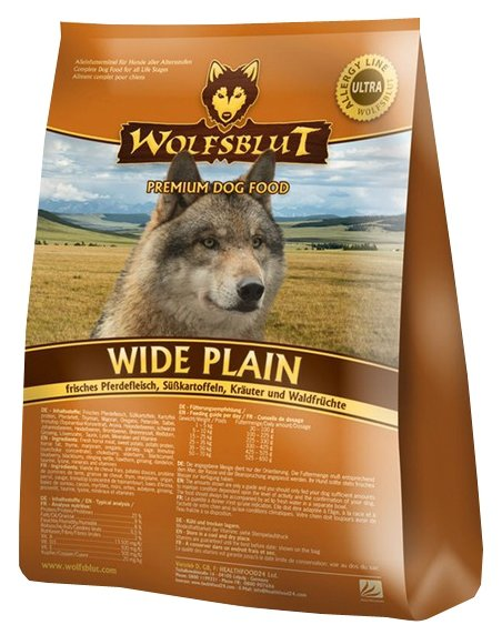 Корм для собак Wolfsblut Wide Plain Adult (15 кг)