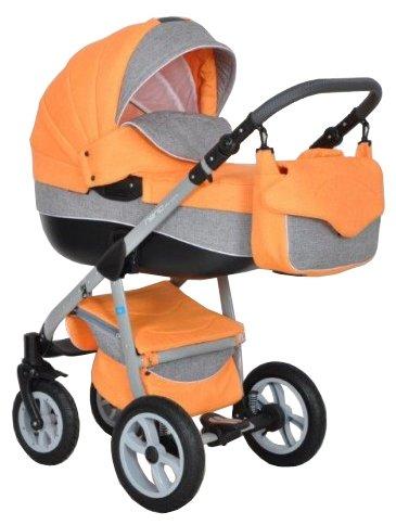 Детская универсальная коляска Riko Nano Ecco 3 в 1 (02/carbon)