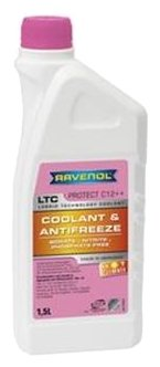 Антифриз Ravenol LTC Lobrid Technology Coolant HOT CLIMATE -15°C