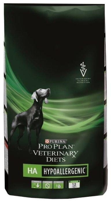 Корм для собак Pro Plan Veterinary Diets Canine HA Hypoallergenic dry
