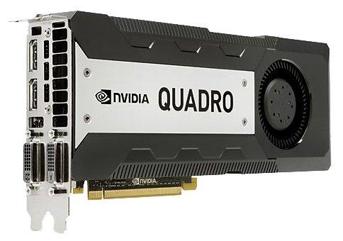 HP Quadro K6000 PCI-E 3.0 12288Mb 384 bit 2xDVI