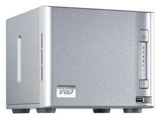 Сетевой накопитель (NAS) Western Digital WD ShareSpace 8 TB (WDA4NC80000)