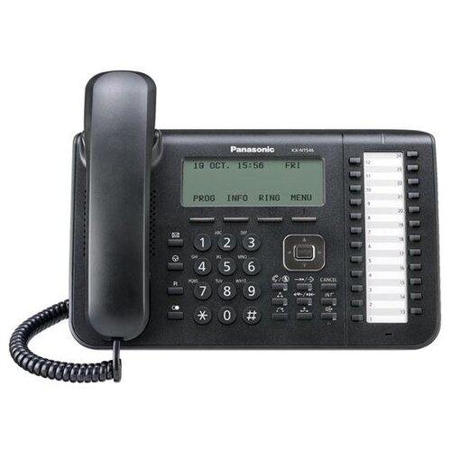 Фото - VoIP-телефон Panasonic KX-NT546 черный voip телефон panasonic kx udt111ru черный