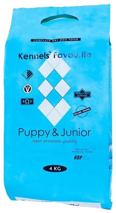 Корм для собак Kennels Favourite Puppy & Junior (4 кг)