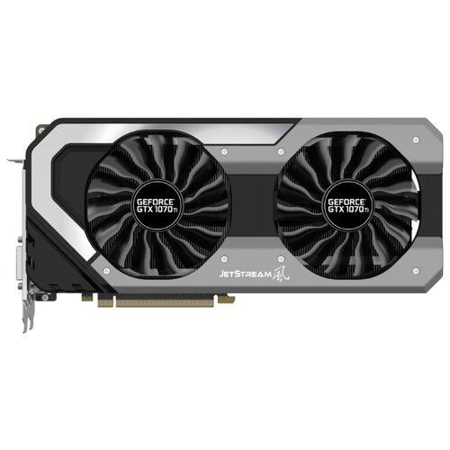 Купить Видеокарта Palit GeForce GTX 1070 Ti 1607MHz PCI-E 3.0 8192MB 8000MHz 256 bit DVI HDMI HDCP JetStream Retail